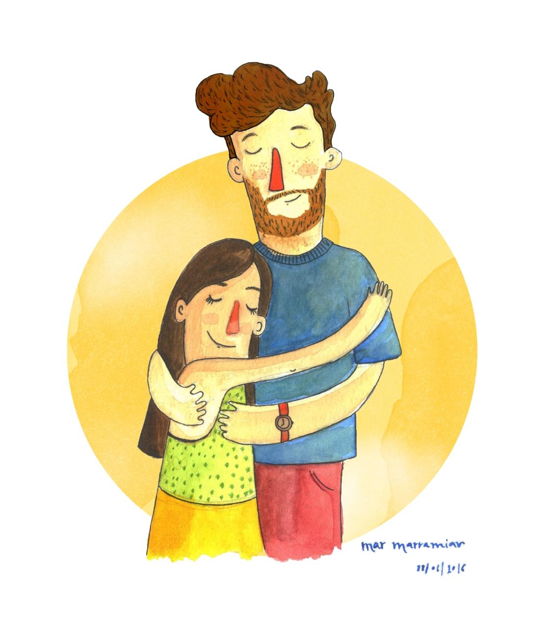 abraçada_<3